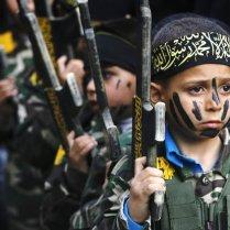 Israel gaza Hamas children iron dome missiles tel aviv airport