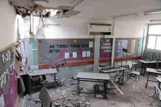Destroyed Jewish Classroom