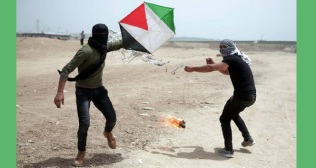 Fire kites